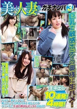 GAVHJ 030 256x362 - [GAVHJ-030] 美しい人妻をガチナンパ 3!巨乳で敏感ボディの奥様に生ハメ!生中出し10連発!4時間! Creampie GATI (Graffiti Japan) ナンパ グラフィティジャパン Big Tits