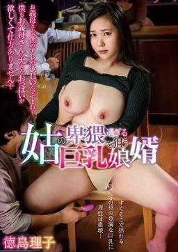 GVH 198 256x362 - [GVH-198] 姑の卑猥過ぎる巨乳を狙う娘婿 徳島理子 Glory Quest Kisakura Kabin Solowork 単体作品 Big Tits