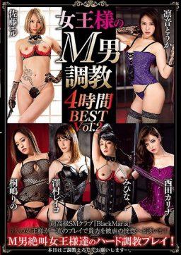 AVSA 165 256x362 - [AVSA-165] 女王様のM男調教 4時間BEST Vol.2 まりあんぬ AVSCollector's AVSCollectors Kirishima Rino Rinne Touka